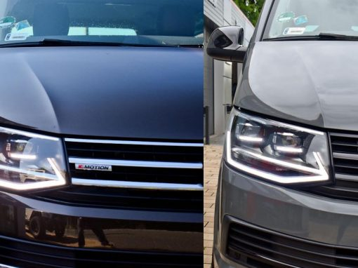 VW T6 Multivan Gloss Dark Grey